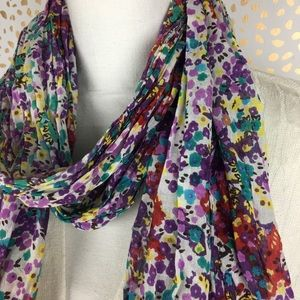 Colorful Floral Scarf
